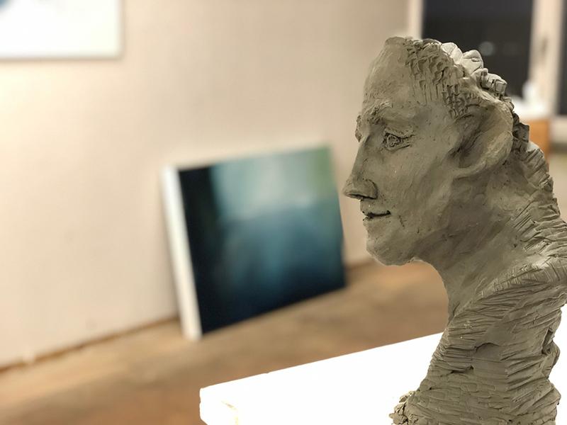 Kunst Skulpturen aus Ton Nicole Sacher