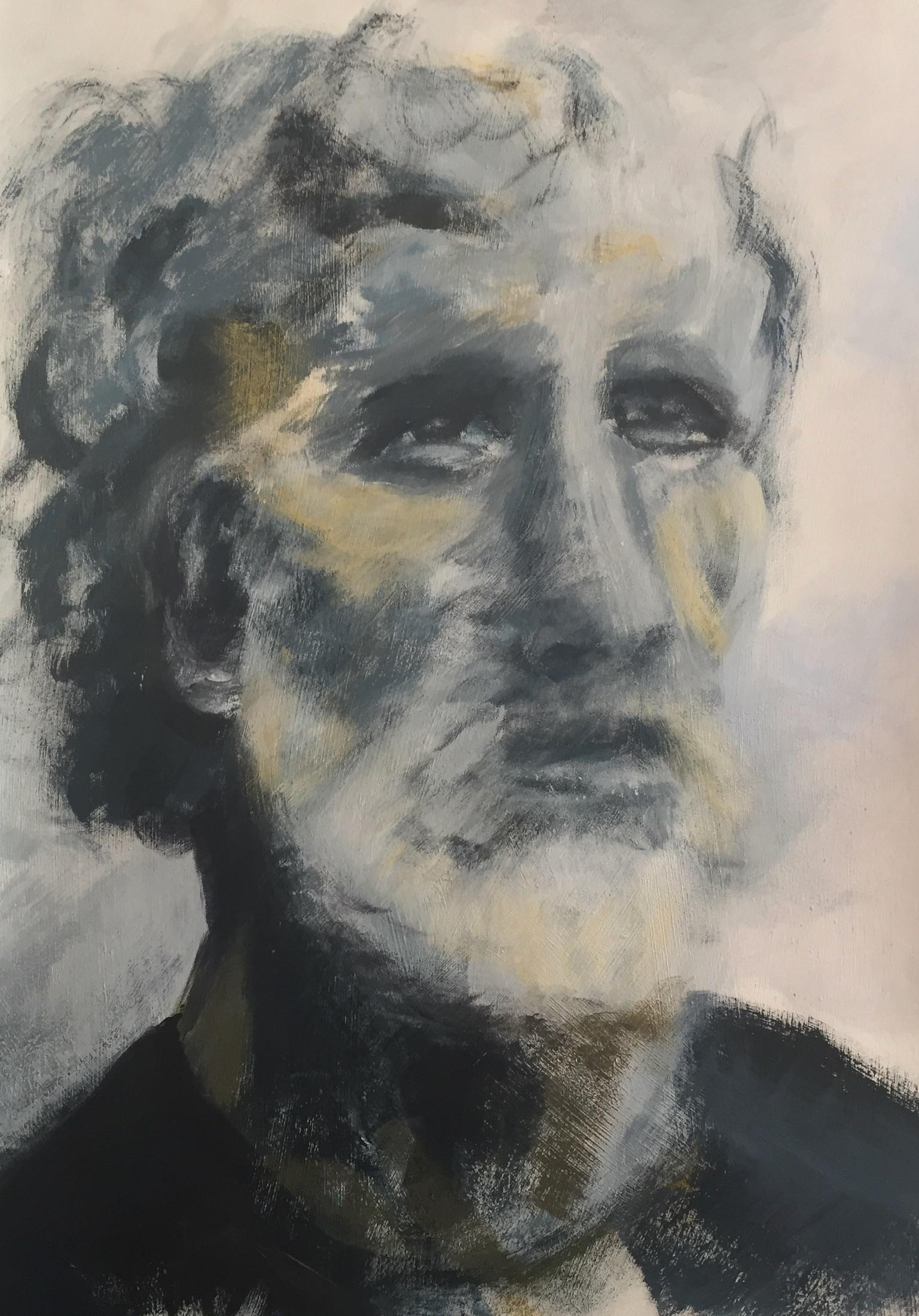 ölmalerei portrait mann